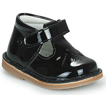 Sapatos Rapariga Sabrinas Citrouille et Compagnie OTAL Preto / Verniz