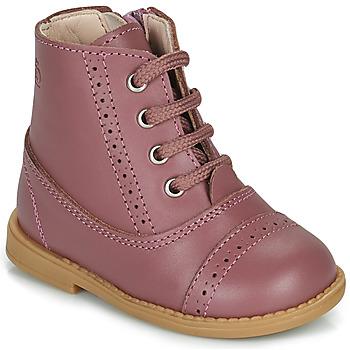 Sapatos Rapariga Botas baixas Citrouille et Compagnie PUMBAE Rosa