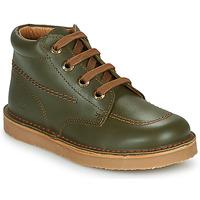 Sapatos Rapaz Botas baixas Citrouille et Compagnie PIMON Verde
