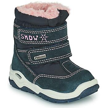 Sapatos Rapariga Botas de neve Citrouille et Compagnie POUDOU Azul / Rosa