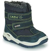 Sapatos Rapaz Botas de neve Citrouille et Compagnie POUDOU Azul / Verde