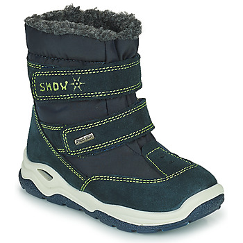 Sapatos Rapariga Botas de neve Citrouille et Compagnie POUDOU Azul / Verde