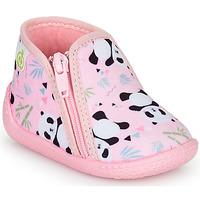 Sapatos Rapariga Chinelos Citrouille et Compagnie PACARONI Rosa