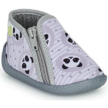 Sapatos Criança Chinelos Citrouille et Compagnie PACARONI Cinza