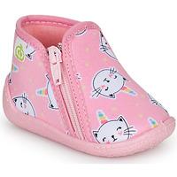 Sapatos Rapariga Chinelos Citrouille et Compagnie PAGLIATELLE Rosa