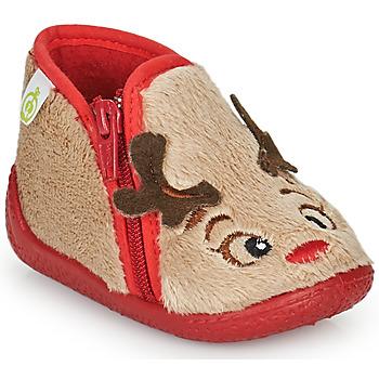 Sapatos Criança Chinelos Citrouille et Compagnie PARFALLE Bege