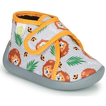Sapatos Rapaz Chinelos Citrouille et Compagnie PASTACARBO Cinza