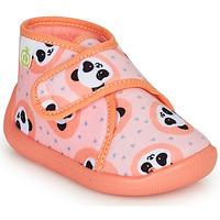 Sapatos Rapariga Chinelos Citrouille et Compagnie PASTACARBO Salmão