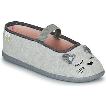 Sapatos Rapariga Chinelos Citrouille et Compagnie PASTALDENTE Cinza / Rosa
