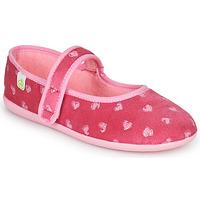 Sapatos Rapariga Chinelos Citrouille et Compagnie PIWOINE Rosa fúchia