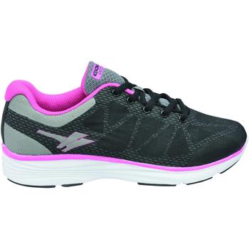 Sapatos Mulher Sapatilhas Gola  Preto-acinzentado/rosa