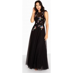 Textil Mulher Vestidos compridos Little Mistress  Preto
