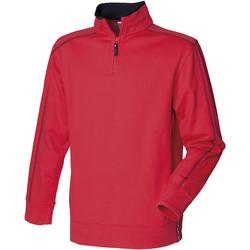 Textil Homem Casaco polar Front Row FR802 Vermelho/Navio