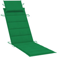Casa Almofada de cadeira VidaXL Almofadão para espreguiçadeira Verde