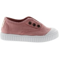 Sapatos Rapariga Sapatilhas de ténis Victoria Baskets fille  1915 anglaise toile lavée rose foncé