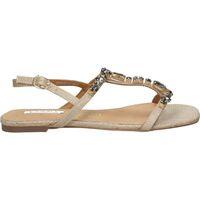 Sapatos Mulher Sandálias D'angela SANDALIAS  DMS19461 MODA JOVEN ORO Doré