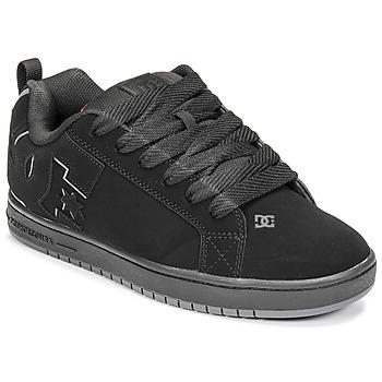 Sapatos Homem Sapatos estilo skate DC Shoes COURT GRAFFIK Preto / Vermelho