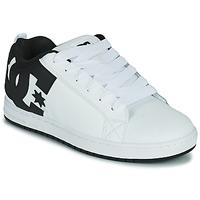 Sapatos Homem Sapatos estilo skate DC Shoes COURT GRAFFIK Branco / Preto