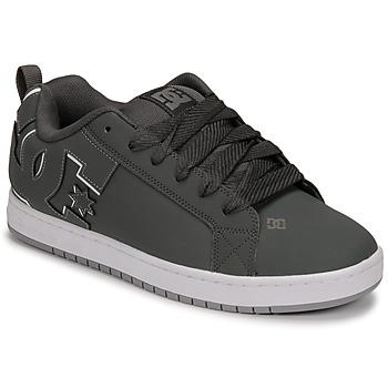 Sapatos Homem Sapatos estilo skate DC Shoes COURT GRAFFIK Cinza / Preto
