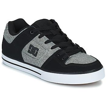 Sapatos Homem Sapatos estilo skate DC Shoes PURE Cinza / Preto