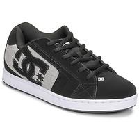 Sapatos Homem Sapatos estilo skate DC Shoes NET Preto / Cinza