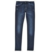 Textil Rapaz Gangas Skinny Diesel SLEENKER Azul / Escuro