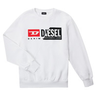 Textil Criança Sweats Diesel SGIRKCUTY OVER Branco