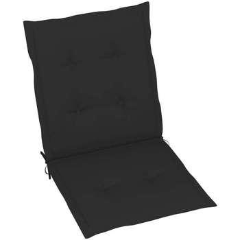 Casa Almofada de cadeira VidaXL Almofadão para cadeira de jardim 100 x 50 x 4 cm Preto