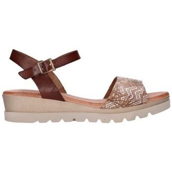 Sapatos Mulher Sandálias Valeria's 7182 Mujer Cuero marron