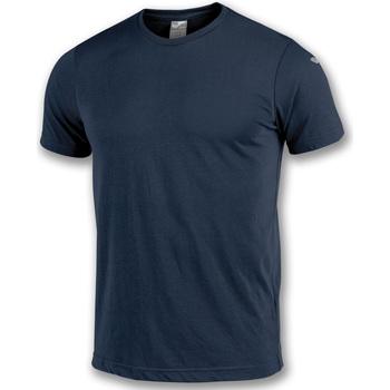 Textil Rapaz T-Shirt mangas curtas Joma T-shirt  NIMES bleu marine