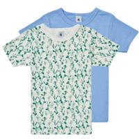 Textil Rapaz T-Shirt mangas curtas Petit Bateau LOLITA Multicolor