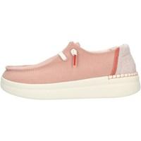 Sapatos Mulher Sapato de vela Hey Dude 121945031 Rosa