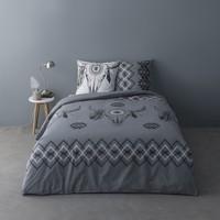 Casa Conjunto de roupa de cama Mylittleplace ISIDORE Cinza / Escuro