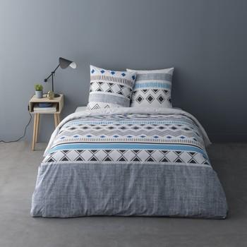 Casa Conjunto de roupa de cama Mylittleplace BLAISE Cinza