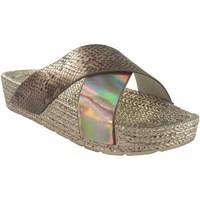 Sapatos Mulher Alpargatas Kelara Senhora da praia  k12033 ouro Ouro