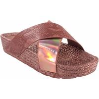Sapatos Mulher Alpargatas Kelara Senhora da praia  k12033 salmão Rosa