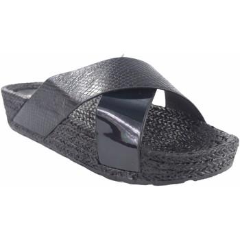 Sapatos Mulher Alpargatas Kelara Senhora da praia  k12033 preto Preto