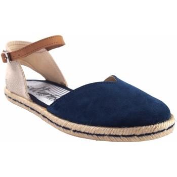 Sapatos Mulher Alpargatas Calzamur Sapato de senhora  10147 azul Azul