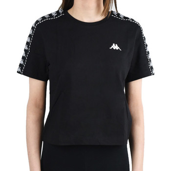 Textil Mulher T-Shirt mangas curtas Kappa Inula T-Shirt Noir