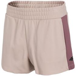 Textil Mulher Shorts / Bermudas 4F Women's Shorts Rose