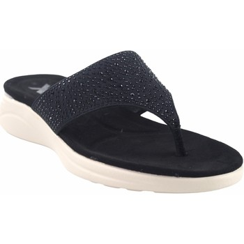 Sapatos Mulher Chinelos Xti Sandália de senhora  42509 preta Preto