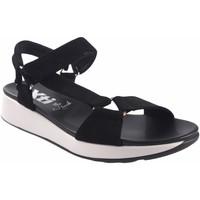 Sapatos Mulher Sandálias desportivas Xti Sandália senhora  42529 preta Preto
