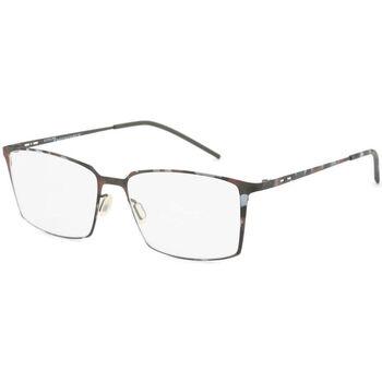 Relógios & jóias Homem óculos de sol Italia Independent - 5210A Castanho