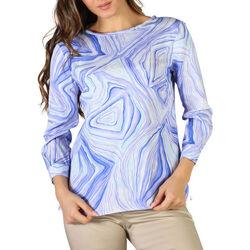 Textil Mulher camisas Fontana - chiara Azul