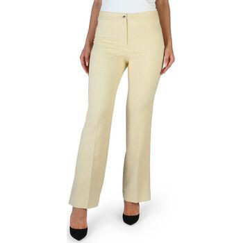 Textil Mulher Calças Fontana - brenda Amarelo