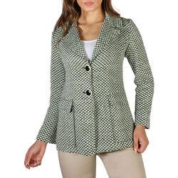 Textil Mulher Casacos Fontana - emily Verde