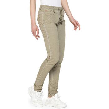 Textil Mulher Calças de ganga Carrera - 750pl-980a Verde