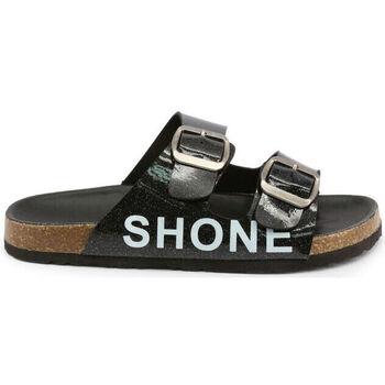 Sapatos Criança Chinelos Shone - 026798 Preto