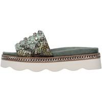 Sapatos Mulher Chinelos Alma Blue V21BL7103 Verde