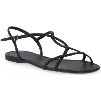 Sapatos Mulher Sandálias Miss Unique UNIQUE   PRETO CALF Nero